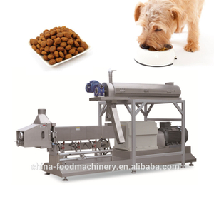 Full automatic dog food pellet making machine from factory