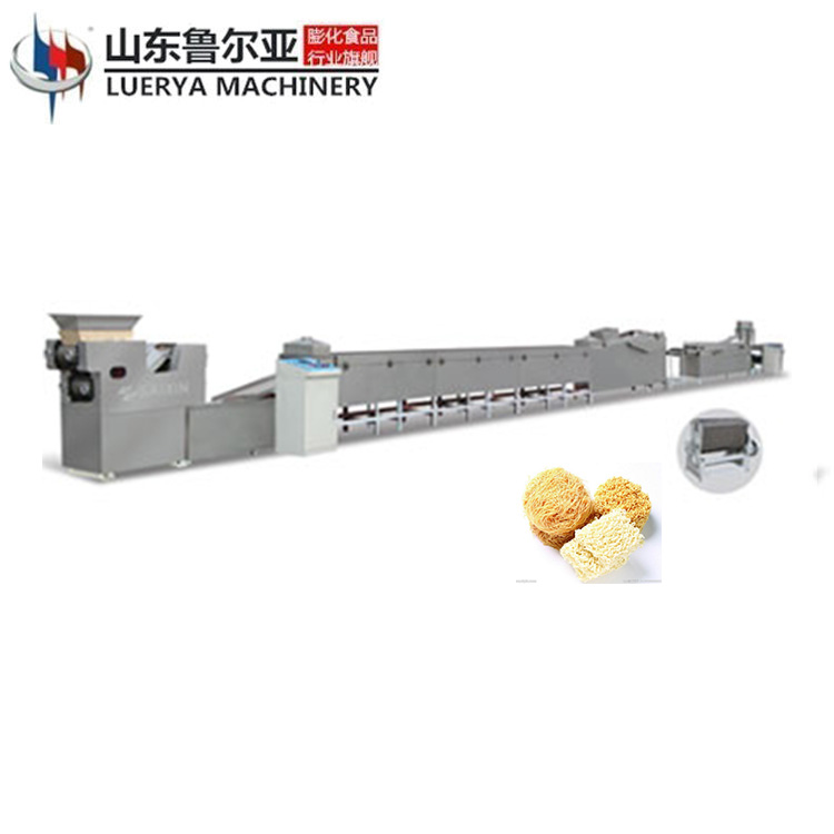 Square/round shape fried instant noodle making machine