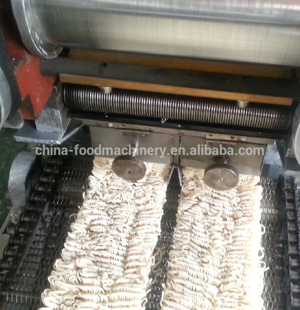 Full automatic maggi /fryer /instant noodle making machine production line