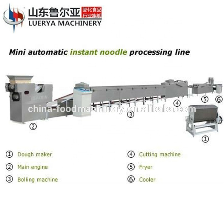 2019 Hot selling instant noodle making machines from China