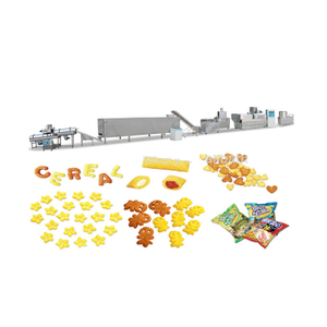 Crispy Puffed Rice Snacks Food Extruder Machine