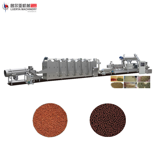 Floating fish feed extruder machine with new design machine