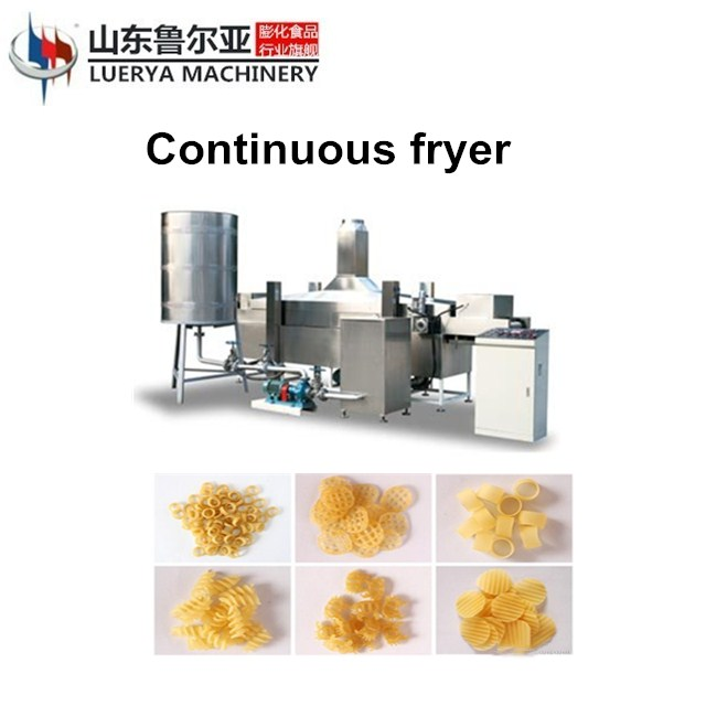 Automatic potato chips frying machine