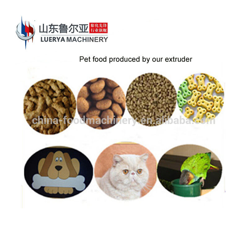 Hot sale full automatic pet food extruder making machines